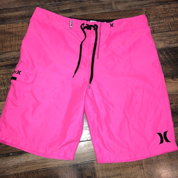 2996fd4df0 Hurley Swim | Hot Pink Trunks | Poshmark